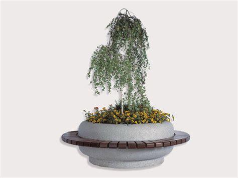 circolare 216 d italia panchina circolare con fioriera integrata by bellitalia