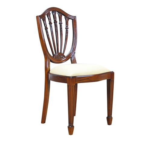shield back side chair niagara furniture solid mahogany