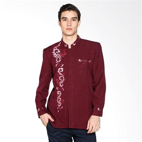 Spiccato Sp10719 Busana Pria Kemeja Pria Baju Casual harga gema collection muslim jasko baju koko pria biru pricenia