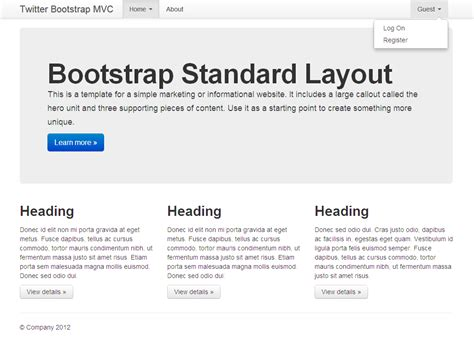 bootstrap layout helper build a lean startup startitup