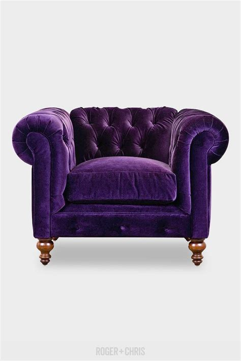 purple velvet sofa modern style home design ideas