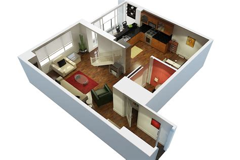 Floor Plan In 3d 3d Floor Plans 3d Walkthroughs