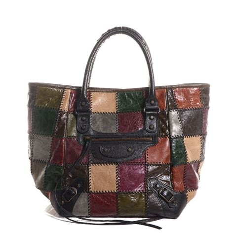 Balenciaga Patchwork - balenciaga patchwork sunday pm tote 92198