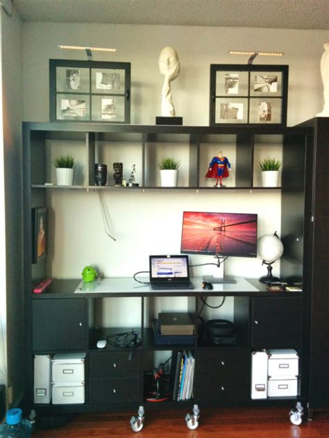 expedit standing desk movable expedit standing desk with storage ikea hackers