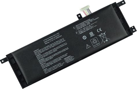 Laptop Asus Dual X453 battery for asus x453 laptop replacement asus x453 batteries 2 cells 4000mah