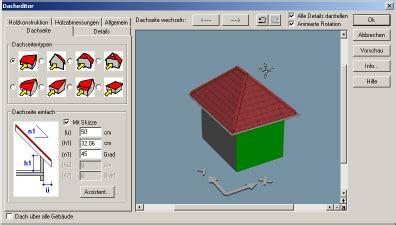 Walmdach Volumen Berechnen by Produktseite Arcon Open Software