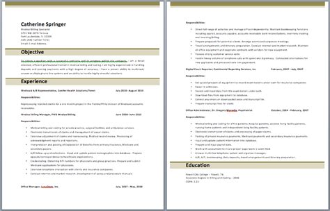 medical billing manager resume best resume exles