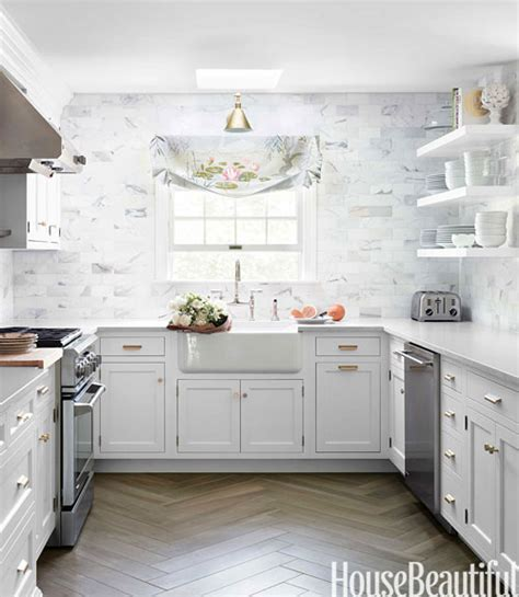 Bathroom Ideas Subway Tile by Beautiful White And Gray Kitchen The Inspired Room