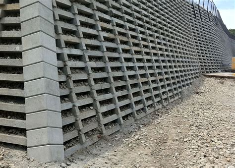 Concrete Crib Retaining Wall by Crib Block Walls United Crib Sydney Construction