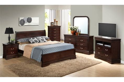 bedroom sets dawson cappuccino king size platform look