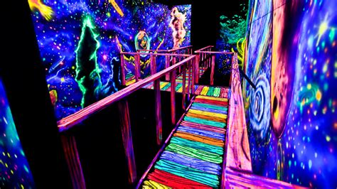 the nest haunted house seven exles of how amazing uv paint can be