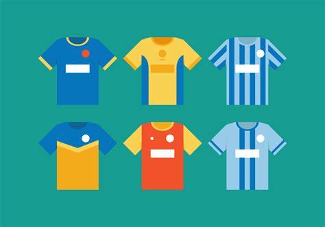 vector football jersey   vectors clipart
