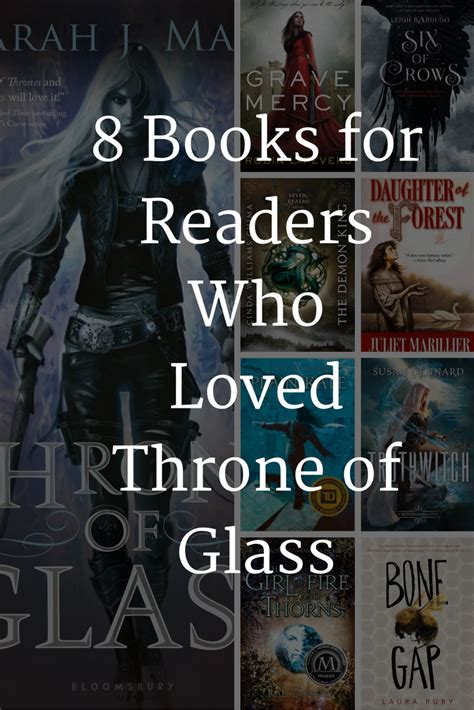 libro the throne of glass 8 books like throne of glass by sarah j maas trono de cristal libros y cristales