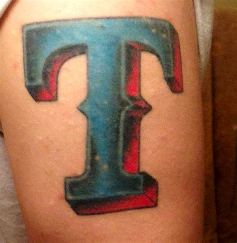 texas rangers tattoo these colors don t run sportsnation espn