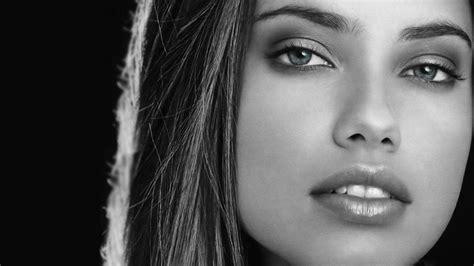 wallpaper black and white faces imagenes rostros femeninos 1 taringa