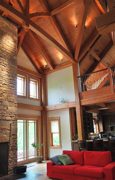 timber frame great room lighting timber frame great rooms energy works