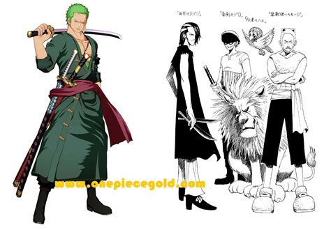 Mihawk Gold Edition zoro was originally supposed to be in buggy s crew one