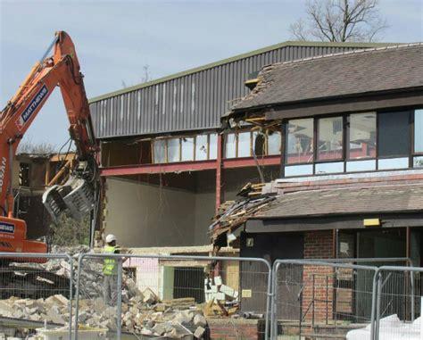 Demolition Grange by Demolishing The Grange The Ll Club
