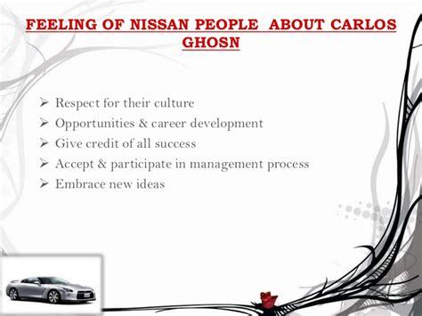 carlos ghosn leadership style nissan the global leadership of carlos ghosn