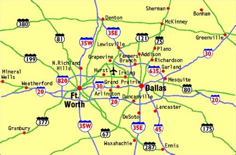 map of dallas airport 3 airport technology
