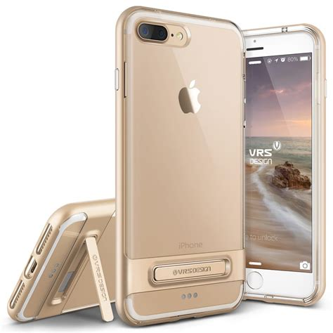 Verus Kickstand Iphone 7 Gold verus bumper skal till apple iphone 7 plus gold themobilestore