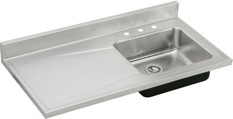 Elkay S4819r 48 Inch Single Bowl Stainless Steel Sink Top