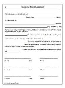 rental house template rental agreement forms lease agreement form copter