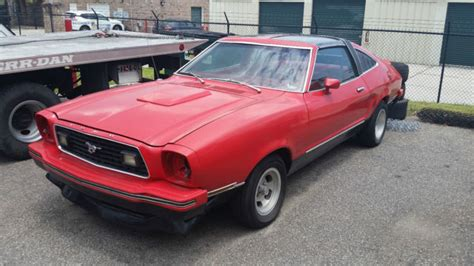 1978 mach 1 mustang 1978 ford mustang ii mach 1 with t tops for sale photos
