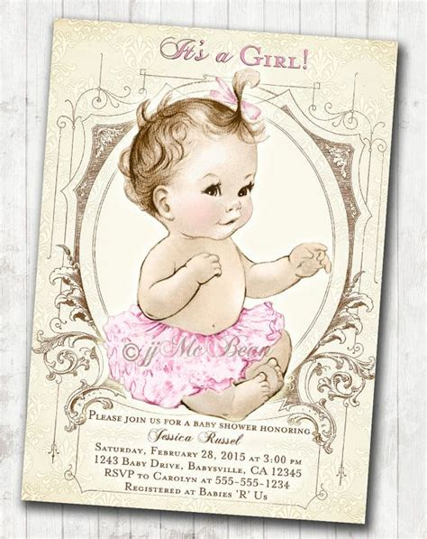 Vintage Birthday Decorations by Best 25 Vintage Baby Showers Ideas On Pinterest