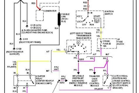2006 gmc wiring diagram fuse box auto wiring diagram