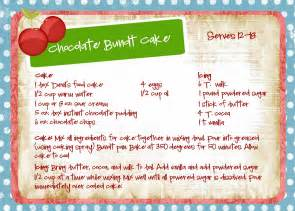bayberry creek crafter chocolate bundt cake recipe