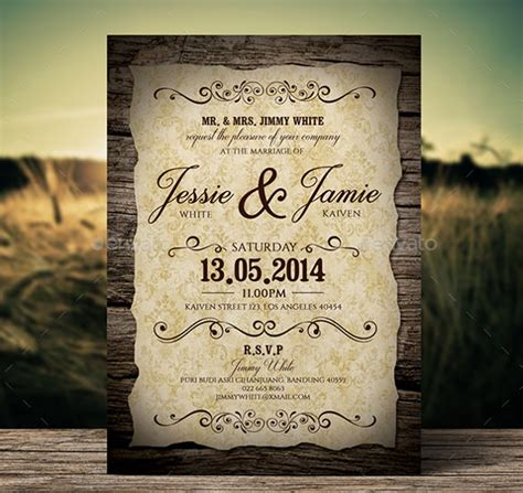 classic wedding card template 28 wedding invitation wording templates free sle