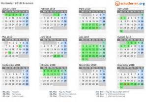 Kalender 2018 Ferien Und Feiertage Kalender 2018 Ferien Bremen Feiertage