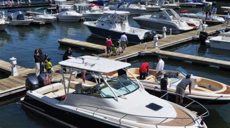 in water boat show boston ma new england boating fishing your boating news source