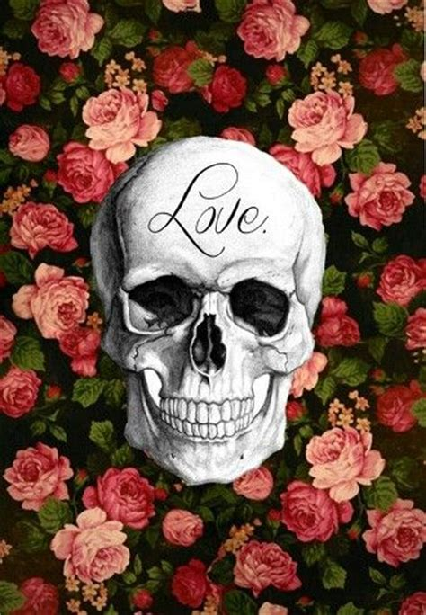 wallpaper skull flower sexy skull wallpaper and skulls on pinterest