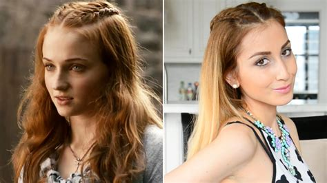 Hairstyle Of Thrones by Sansa Stark Inspired Hairstyle Of Thrones Hair