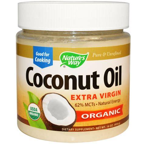 Organic Cocnut Detox After Flu Vaccine by Nature S Way Organic Coconut 16 Oz 454 G Iherb