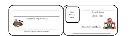 homeschool id template free homeschooling and student id cards free