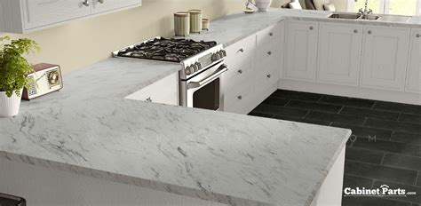 Kitchen Cabinet Laminate Sheets by Wilsonart Calcutta Marble Textured Gloss Finish 4 Ft X 8