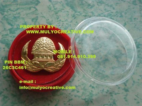 Pin Korpri Asn Logam Kuningan Magnet pin korpri lencana korpri atribut korpri silver