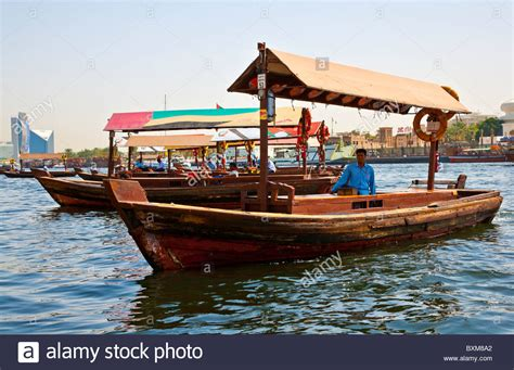 old boat uae traditional arabian boats abras or dhows moored along the