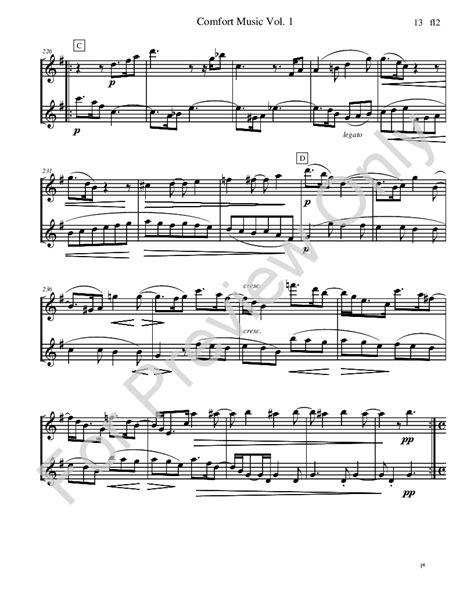 comfort music comfort music for flute duet flute duet nbs j w pepper