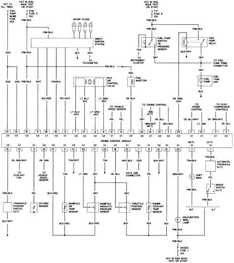 48 2 2l Vin G Engine Control Wiring Diagram 1990