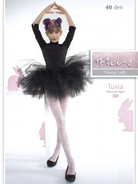 childrens patterned tights uk fiore elegant childrens tights with flower pattern tusia