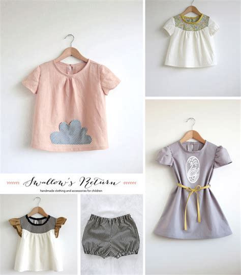 Handmade Childrens Dresses - swallow s return handmade clothing on etsy 171 babyccino