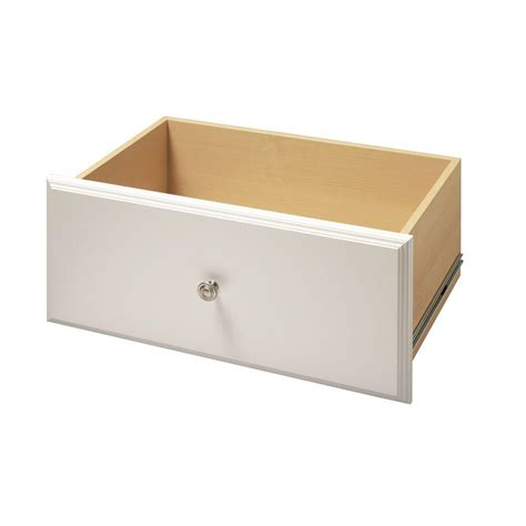 Drawer Kits Home Depot by Martha Stewart Living 12 In X 24 In Classic White Deluxe