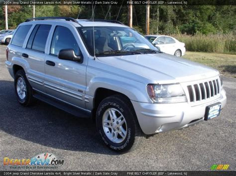2004 jeep grand silver 2004 jeep grand laredo 4x4 bright silver metallic
