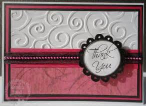 2 scrap n make cards ci paints inspired by ribbon