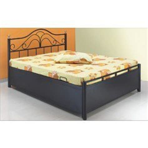 Iron Bed With Storage Wrought Iron Furniture Bed With Storage Manufacturer From Mumbai