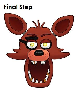 five nights at freddy s coloring book great coloring pages for and adults unofficial edition books how to draw foxy five nights at freddy s